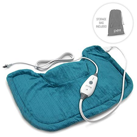 5 PureRelief Neck & Shoulder Heating Pad with Fast-Heating Technology