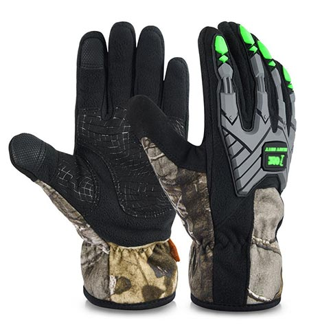 7 Vbiger Climbing Gloves Crag Gloves Outdoor Waterproof Touch Screen Warm Gloves In Camouflage
