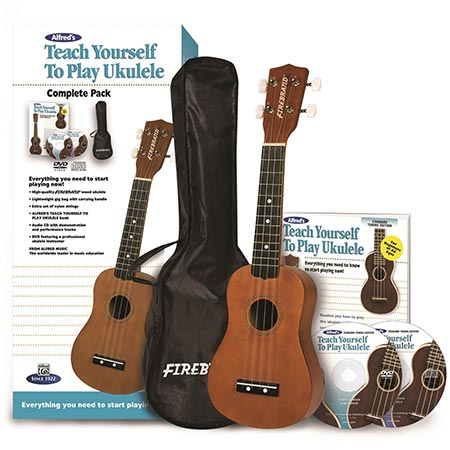 7. Alfred's Teach Yourself to Play Ukulele, Complete Starter Pack