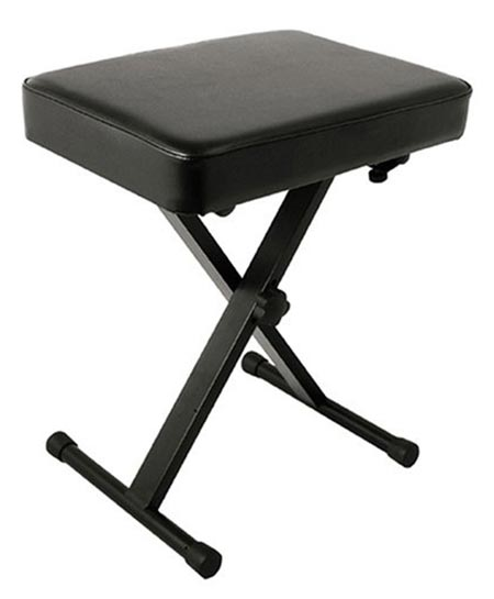5 World Tour Deluxe Padded Keyboard Bench
