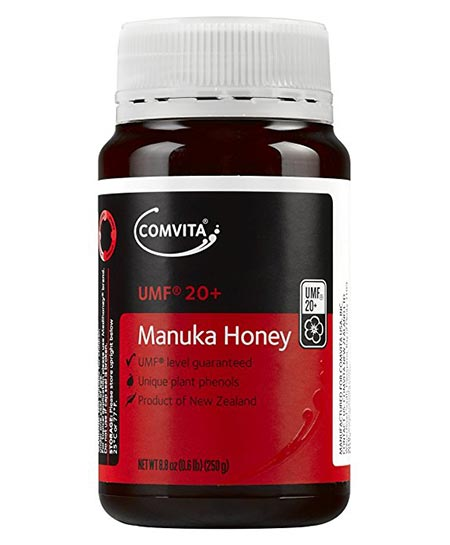 5. Comvita UMF 20+ Certified Manuka Honey
