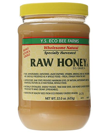 2. YS Eco Bee Farm Raw Honey
