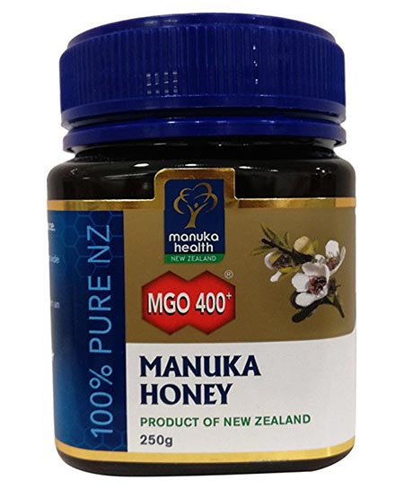 6. Manuka Health – Manuka Honey + MGO 400, 100 Percent Pure Honey from New Zealand