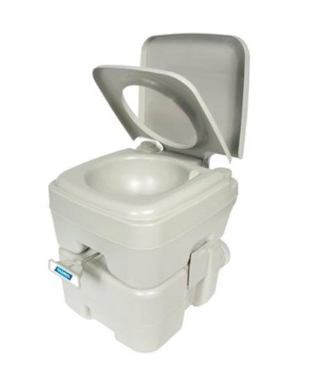 1 Camco Standard Portable Travel Toilet,