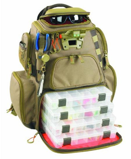 3. Wild River by CLC WT3604 Tackle Tek Nomad Lighted Backpack