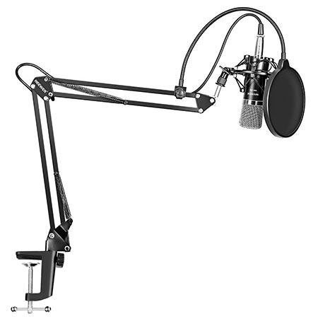 1. Neewer NW-700 Professional Studio Condenser Microphone