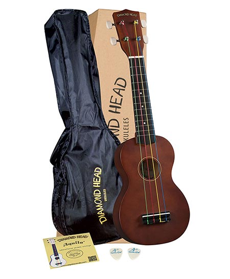 1. Diamond Head DU-151 Ukulele