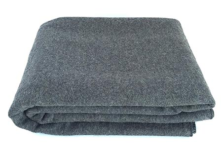 12. EKTOS 90% Wool Blanket for Outdoor Camping