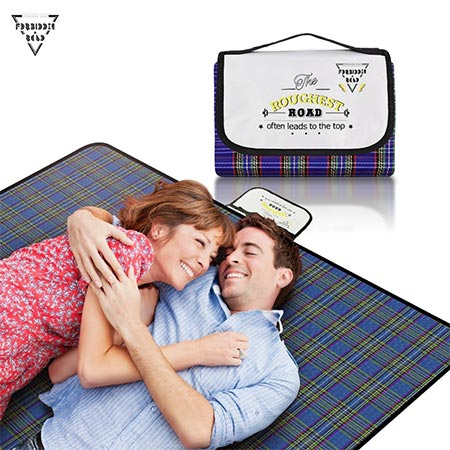 9. Forbidden Road Portable Picnic Blanket