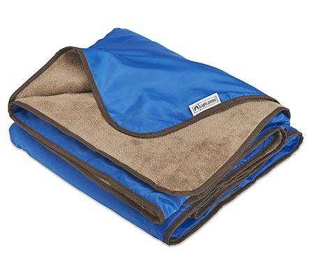 11. XL Plush Fleece Outdoor Rainproof and Windproof Blanket