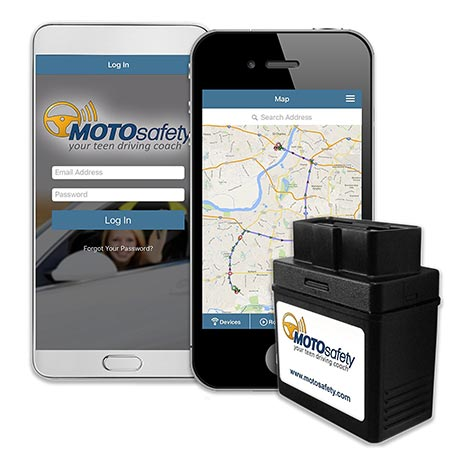 7. MOTOsafety OBD GPS Tracker Device With 3G GPS Service Locator, Real-Time Teen Driving Coach, GPs Tracking & Vehicle Monitoring System, MPVAS1