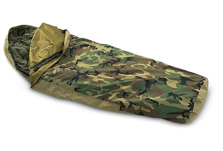 10. Woodland Camouflage Waterproof Bivy Cover