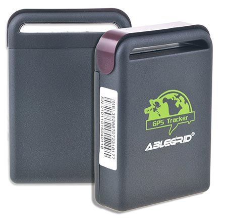 4. ABLEGRID Real-time GPS Tracker GSM GPRS System Vehicle Tracking Device TK102 Mini Spy