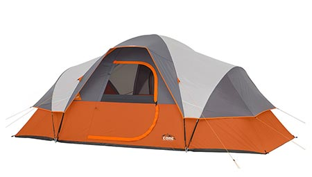 9: CORE 9 Person Extended Dome Tent- 16'x 9.'