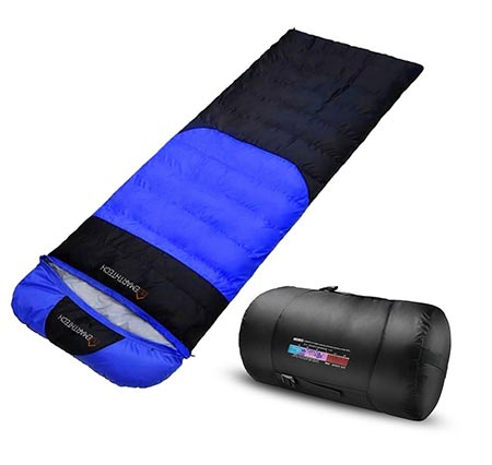 9. Emarth Extreme Sleeping Bag with Compression Sack