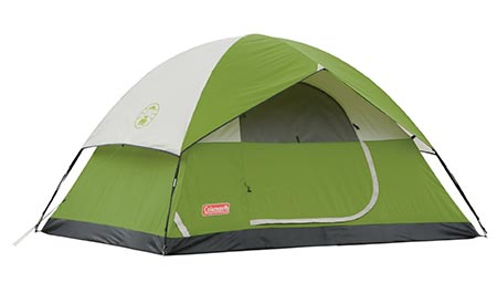 12 Sundome 4 Person Tent (Green and Navy color options)