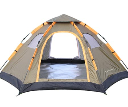 8 Wnnideo Instant Family Tent 6 Person Large Automatic Pop up Tents Waterproof for Outdoor Sports Camping Hiking Travel with Zippered Door