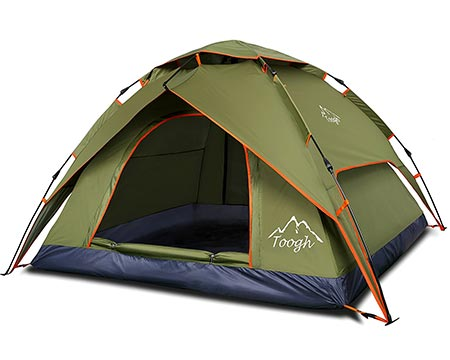 10 2&3 Person Camping tent- Tough 3 Season Backpacking tent Sundome pop up Tents for Outdoor Sports