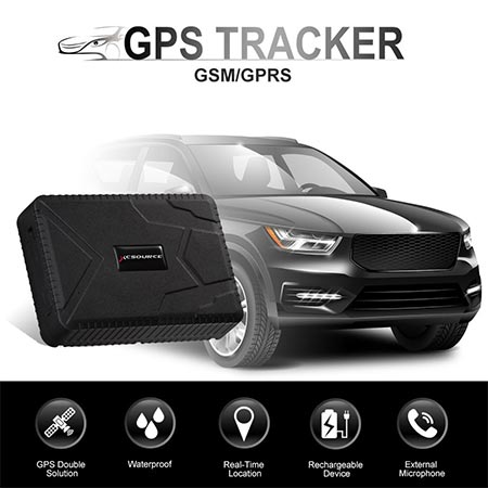 1. GPS Tracker 10000 mAh Anti-Lost Waterproof Gps Tracker, 120 days Standby GSM/GPRS Real Time Tracking Device