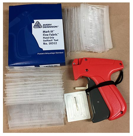 7 Avery Dennison Fine Tagging Gun Kit Gun+needle+1000 Avery Dennison Barbs