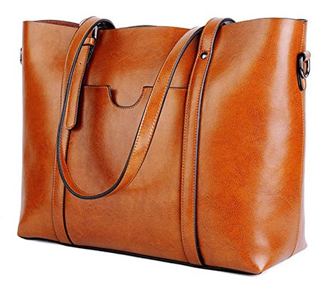 0725b6b92b ... Tote Large Shoulder Bag. 1. BIG SALE- 30% OFF- YALUXE Women s Vintage  Style Soft Leather Work