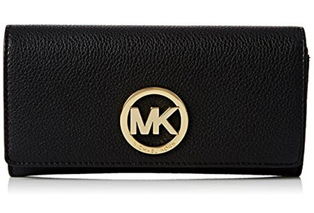 1Michael Kors Women's Fulton Carryall Leather Wallet