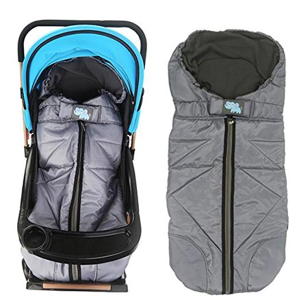 4 Lemonda Winter Outdoor Tour Waterproof Baby Infant Universal Stroller Sleeping Bag Warm Footmuff Sack