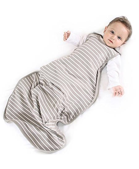 7 Woolino Baby Sleeping Sack - 4 Season - Merino Wool - 2 Month - 2 Year – Earth