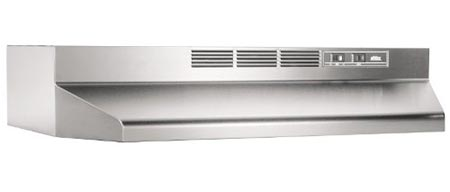 2. Broan 413004 ADA Capable Non-Ducted Under-Cabinet Range Hood