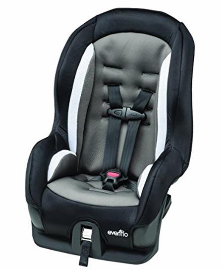 3. Evenflo Tribute Sport Convertible Car Seat, Maxwell