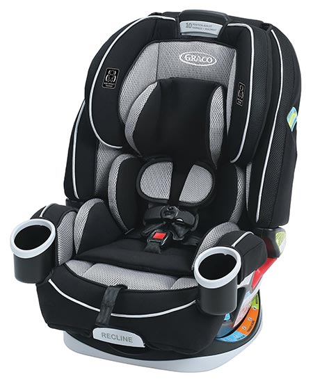 1. Graco 4Ever 4-in-1 Convertible Car Seat, Matrix, One Size