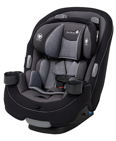 2. Safety 1st Grow and Go 3-in-1 Convertible Car Seat