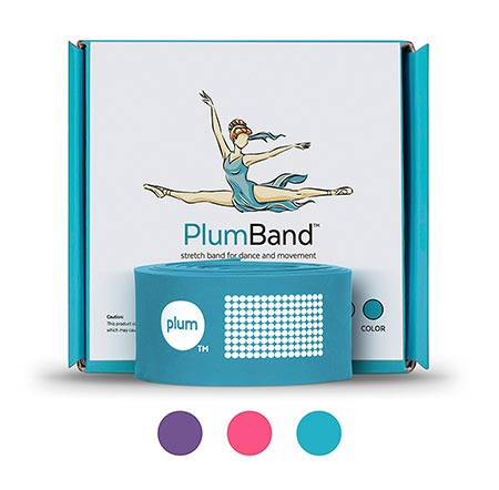 1. The plumbing Stretch Band for Dance and Ballet - Colors and Sizes for Kids & Adults - Improve Your Splits, Strength, and Flexibility with Stretching - Printed Instruction Booklet and Travel Bag