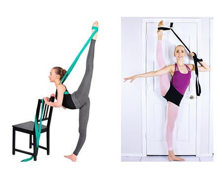10. SUPERIORBAND® + STRETCHMAX = Best Selling Ballet Stretch Band and Best Selling Leg Stretching Strap... in One Special Bundle