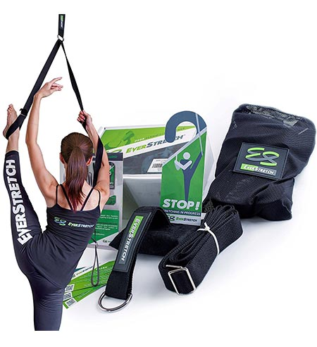 7. Leg Stretcher: Get More Flexible with the Door Flexibility Trainer PRO by EverStretch: Premium stretching equipment for ballet, dance, MMA, taekwondo & gymnastics. Your own portable stretch machine