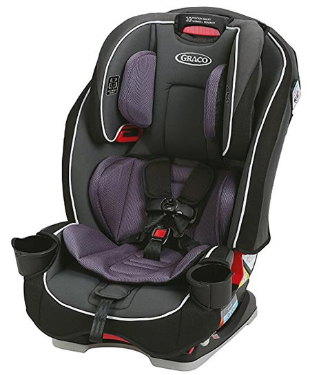 7. Graco SlimFit All-in-One Convertible Car Seat
