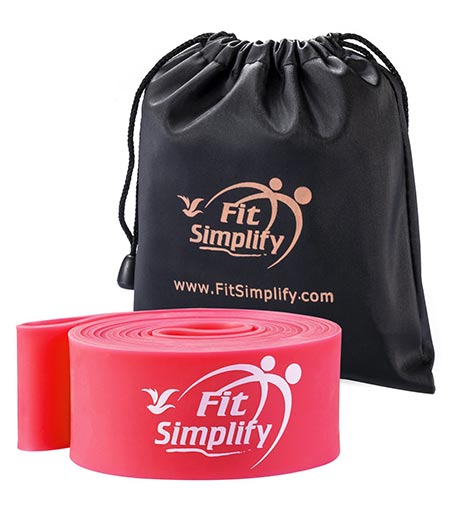 3. Fit Simplify Ballet Stretch Bands - Dance Stretchers and Flexibility Trainers - For Dancers, Skaters and Gymnasts - Instructional Booklet, Carry Bag, Stretching e-Guide and Online Videos