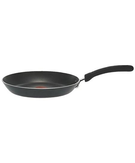 7. T-fal E93802 Professional Total Nonstick Thermo-Spot Heat Indicator Fry Pan, 8-Inch, Black