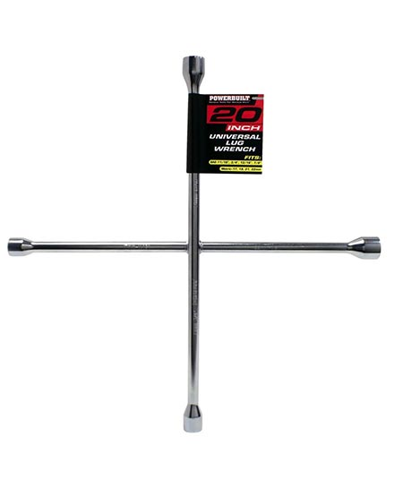 "9. CARTMAN 14"" Heavy Duty Universal Lug Wrench"
