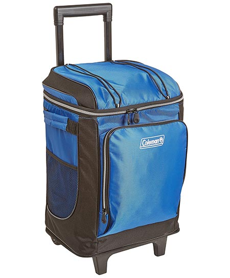 10. Coleman 42-Can Wheeled Soft Cooler With Hard Liner