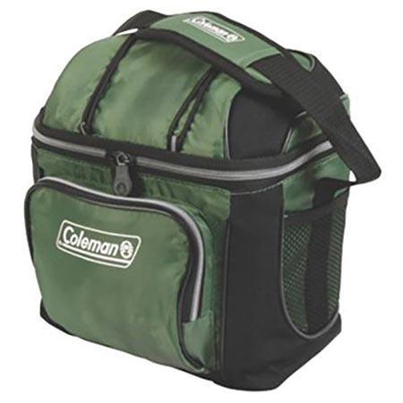7. Coleman 30-Can Soft Cooler With Hard Liner