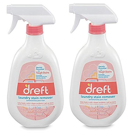 4. Dreft Stain Remover, 22 Ounce (Pack of 2)