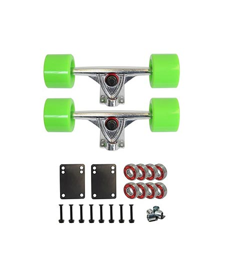 9. Cal 7 Skateboard Package Combo with Trucks