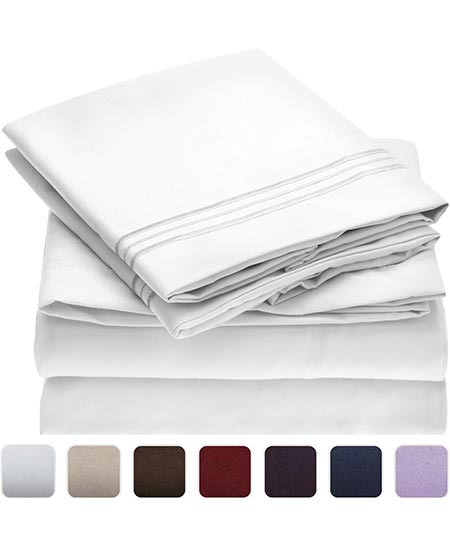 1. Mellanni Bed Sheet Set