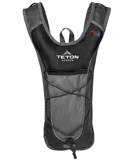 2. Teton Sports Trailrunner 2 Liter Hydration Backpack; Perfect for Trail Running, Cycling, Hiking, and Climbing; BPA Free; 2L Water Bladder Keeps You Cool When You're Outdoors