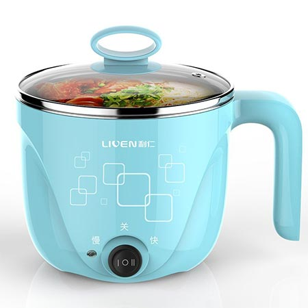 1. 1L Liven Electric Hot Pot with 304 Stainless Steel healthy inner Pot