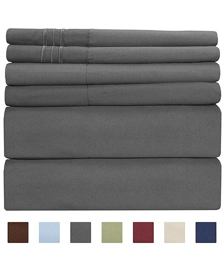 10. Queen Size Sheet Set - 6 Piece Set