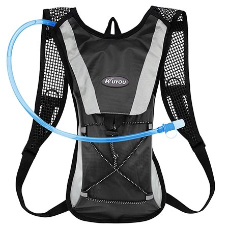 1. KUYOU Hydration Pack, Water Backpack with 2L Water Bladder Perfect For Running Cycling Hiking Climbing Pouch