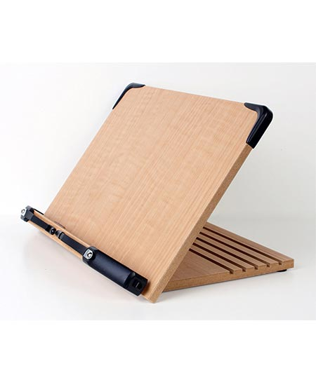 5. A+ BS1500 Book Holder with Adjustable Tray