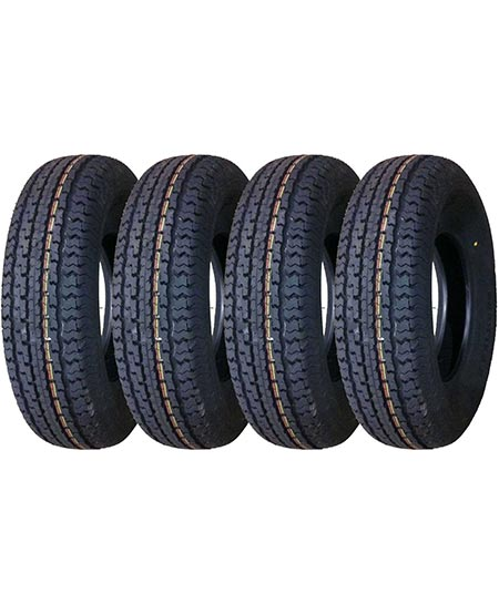 7. Carlisle 6H04561 Radial Trail HD Trailer Tire